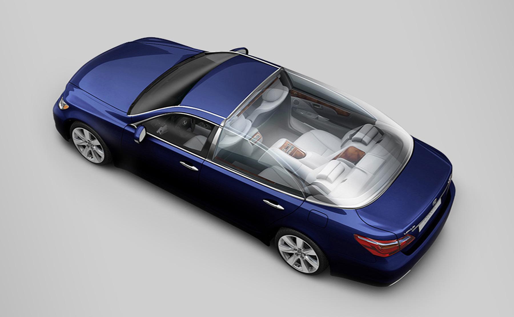 Concept & rendu de la Lexus du Mariage à Monaco